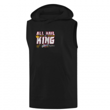 Cleveland Cavaliers 'All Hail The King' Hoodie (Sleeveless)