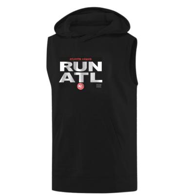 Atlanta Hawks Run Hoodie  (Sleeveless)