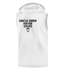 'Uncle Drew Never Stops' Hoodie (Sleevless)
