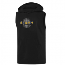Golden State Steph Curry Hoodie ( Sleeveless)