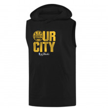 Golden State Our City Hoodie (Sleeveless)