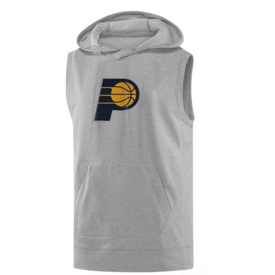 Indiana Pacers Logo Hoodie (Sleeveless )