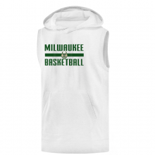 Milwaukee Basketball Hoodie( Sleeveless )