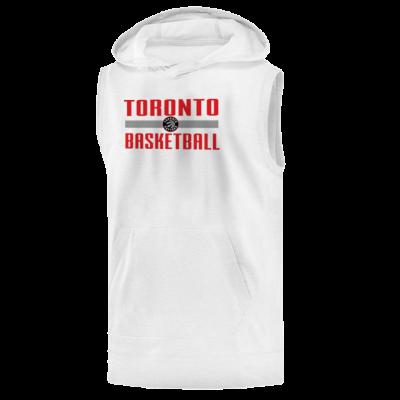 Toronto Basketball Hoodie (Sleeveless)