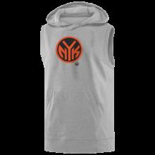 New York Knicks Round Hoodie( Sleeveless)
