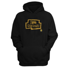 Golden I Love This Team  Hoodie