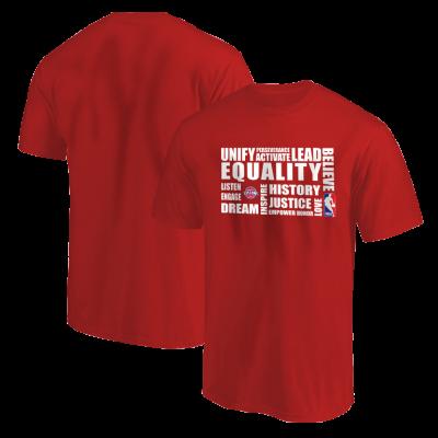 EQUALITY Detroit Pistons Tshirt