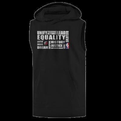 EQUALITY Portland Trail Blazers Hoodie ( Sleeveless )