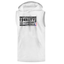 EQUALITY  L.A. Clippers Hoodie ( Sleeveless )
