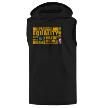 EQUALITY  Golden State Warriors Hoodie ( Sleeveless)