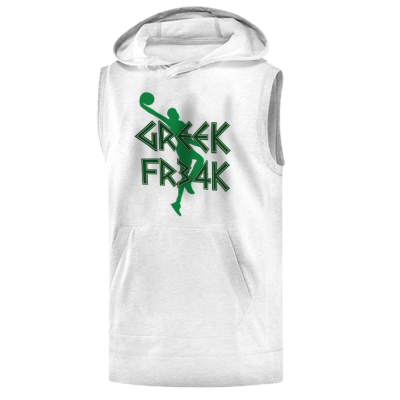 Milwaukee Greek Freak Hoodie ( Sleeveless )