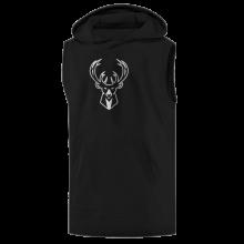 Milwaukee Bucks Hoodie ( Sleeveless)