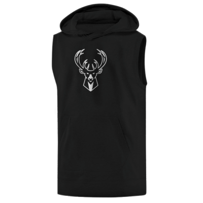 Milwaukee Bucks Hoodie ( Sleeveless)