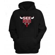 Chicago Bulls 'See Red' Hoodie