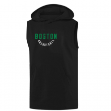 Boston Basketball Hoodie (Sleeveless)