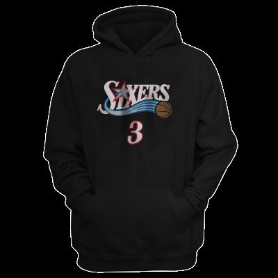 Sixers Allen Iverson Hoodie