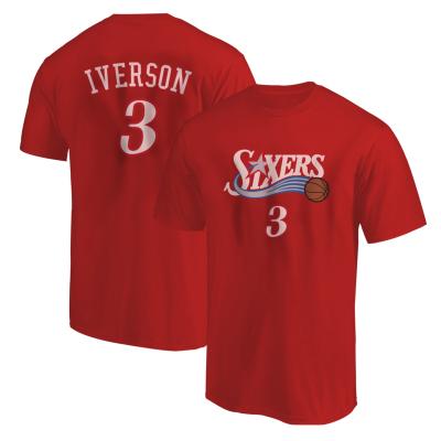 Sixers Allen Iverson Tshirt