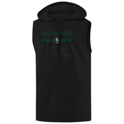 Milwaukee Bucks Hoodie ( Sleeveless )