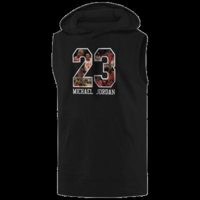 Michael Jordan Hoodie ( Sleeveless )