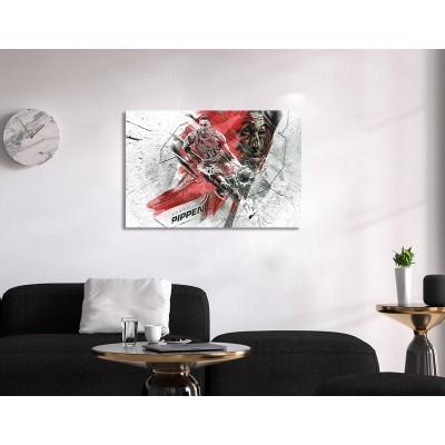 Scottie Pippen Canvas Tablo