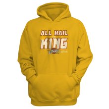 Cleveland Cavaliers 'All Hail The King' Hoodie
